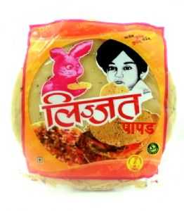 Poppadoms (Black Pepper Papads) by Lijjat  | Buy Online at the Asian Cookshop